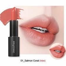 25 Fit Real Korean Cosmetics Lipstick Color innisfree 3 5g