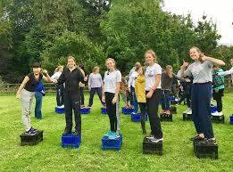 The IIIs headed off to Quantock! | News | Tudor Hall School