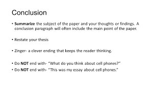 how to write a well written essay text evidence ppt 10 conclusion