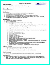 Cna Resume Sample New Format Resumes Image Examples Resume