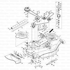 Cub cadet mower deck parts diagram well representation