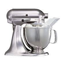 kitchenaid 150. finest kitchenaid artisan mixer keukenrobot ksmps emc metalchroom with 150