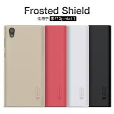 sony xperia l1. nillkin super frosted shield matte cover case for sony xperia l1 + free screen protector