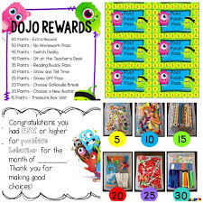 Reward Chart Ideas For Kindergarten 27 Amazing Class Dojo Printables And Ideas Teach Junkie
