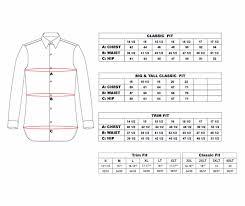 Size Chart Dress Shirt Men Steven Land Raspberry Sharktooth French Cuff Dress Shirt Dc853