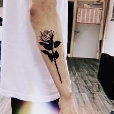 Black Rose Tattoo On The Right Forearm Tattoogridnet