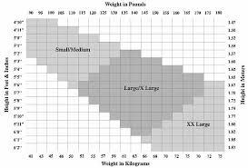 58 Matter Of Fact Nylon Sizing Chart