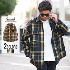 チェックシャツ メンズ Cavariaキャバリアチェック柄長袖ネルシャツ