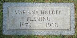 Mariana Holden Fleming (1879-1962) - Find A Grave Memorial