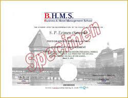 diploma advanced diploma culinary arts hospitality management  post graduate diploma in hospitality management