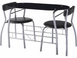 1376130580 miami black glass dining table and 2 chairs breakfast set returnmarket jpg