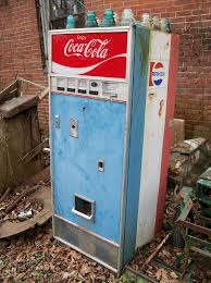 Pepsi Cola Vending Machines Old Magnificent Vintage Coca ColaPepsi Machine A Vintage Pepsi Vending Ma Flickr