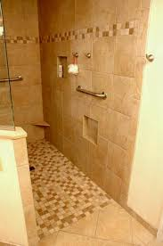ideas for doorless shower designs impressive walk in small bathrooms