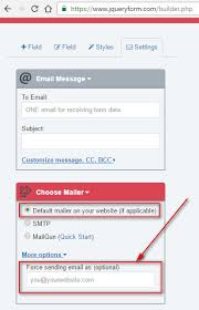 How To Use Email The Web Form Cant Send Emails