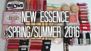 new essence spring summer 2016 collection swatches samantha jane you