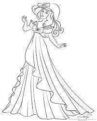Coloriage Princesse Belle Au Bois Dormant C3 A0 Imprimerlll L