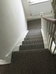 ... Black And White Striped Carpet Stair Runner Entryway Black Runners For  Stairs Full Size