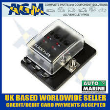 in bus fuse box 6 way blade fuse box bus bar led fuse failure warning led image is loading 6