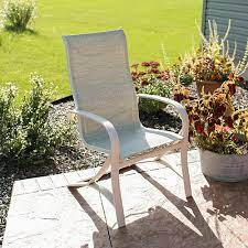 how to replace fabric on a patio sling
