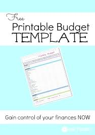 Weekly Budget Template Simple Budget Planner Worksheet Editable ...