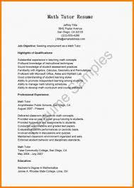 Tutor Job Description Resume Tutoring Onsumes Fieldstation Co Math Tutorsume Tutor Job 23