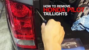 2006 Honda Pilot Brake Light Bulb Replacement How To Remove Replace Honda Pilot Taillight Assembly 2nd Generation 2009 2010 2011 2012 2013 2014