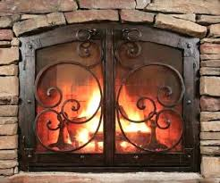 fireplace doors screens and tool sets st style door dealer handles glass home depot canada full