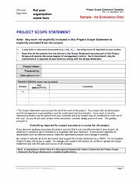 Work Statement Examples Project Management Statement Of Work Template Example Thewilcoxgroup