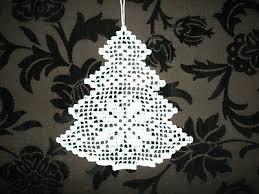 Fensterbild Fensterdeko Gehäkelt Tannenbaum Weihnachten 27 X