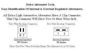 delco remy external regulator wiring diagram wiring diagram wiring diagram for delco alternator the 12 volt tractor