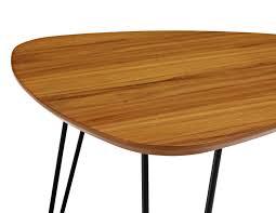 hairpin leg coffee table teak legs whole b q natasha thomas jackson