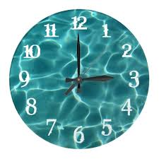 outdoor pool clock and thermometer best australia