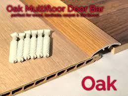 doorway transition strip door bar threshold strip cover plate laminate floor oak