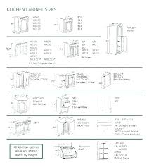 Standard Kitchen Base Cabinet Sizes Chart Base Cabinet Width Dopebody Info
