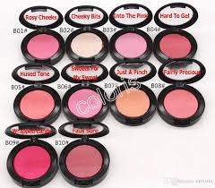 makeup baked blush extra dimension blush shimmer powder natural blush no mirror no brush 4 0g with english name have 10 diffe color almay makeup