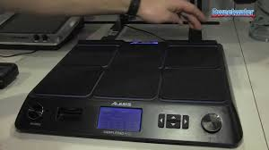 Alesis Sample Pad Pro Percussion Module Overview - Sweetwater at ...