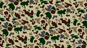 bape camo wallpaper hd