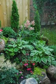small shade garden plans