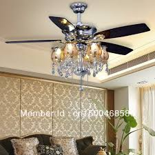 ceiling fan crystal chandelier light kits photo 8