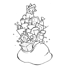 Small Picture Present Coloring Pages