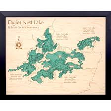 Geist Reservoir Depth Chart 3d Laser Carved Lake Relief Maps Lakehouse Lifestyle