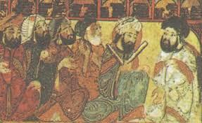 Искусство наука и культура Арабского Халифата История Средних  В библиотеке Миниатюра xiii в