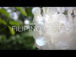 handcrafted capiz in the philippines west elm