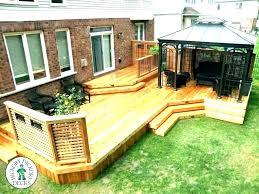outdoor privacy screen deck ideas for backyard diy