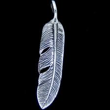home sterling silver pendants spiritual pendants silver feather pendant