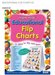 Mighty Minds Educational A3 Flip Charts Books Stationery
