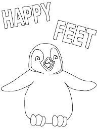 Kinderpleinen Happy Feet Kleurplaten Coloring Home