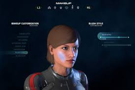 m effect andromeda s character creator has a handful of presets for you to tweak very few eyebrow options and some questionable ideas on makeup