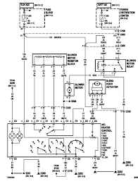 01 wrangler blower only works on low speed jeepforum com it is a very common problem tj s another problem is the fan speed switch these are the only diagrams i have hopefully this will help you