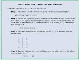 negative real numbers math adding and subtracting math calculator with steps